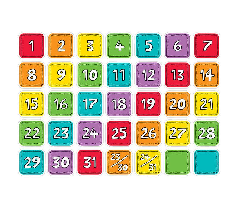 Colourful Calendar Days