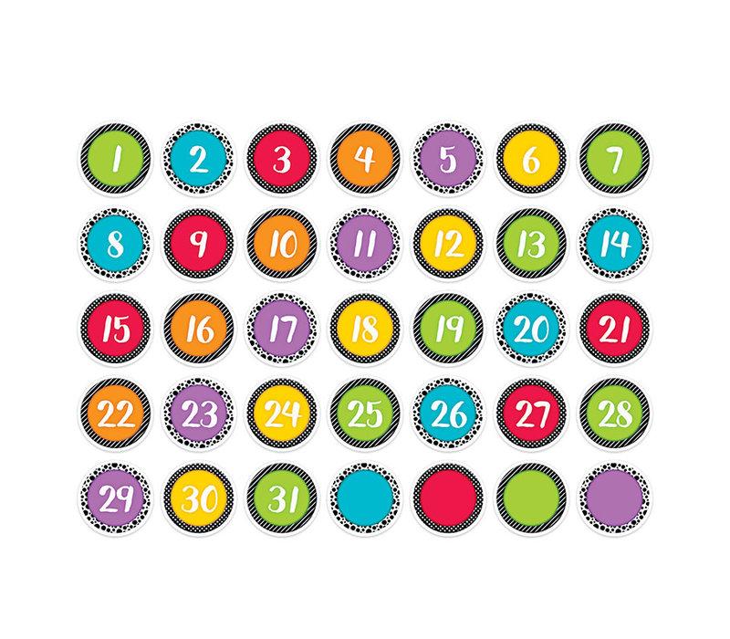 Bold & Bright Calendar Days