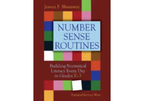 PEMBROKE PUBLISHING Number Sense Routines Grades K-3 *