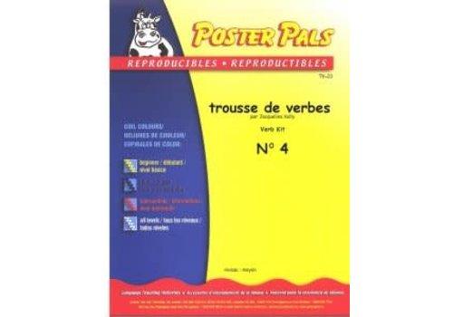 POSTER PALS Trousse de Verbes N4 *