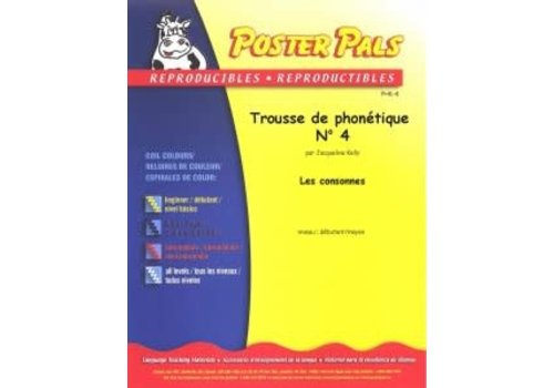 POSTER PALS Trousse de Phonetique N4 *