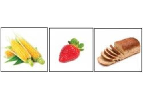 POSTER PALS L'alimentation - Basic Food Items Flashcards
