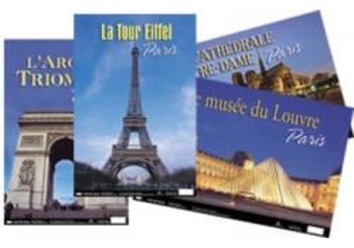 POSTER PALS French Photo Poster Set - Paris Series