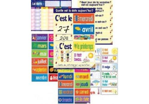 POSTER PALS Laminated Calendar Combo Set