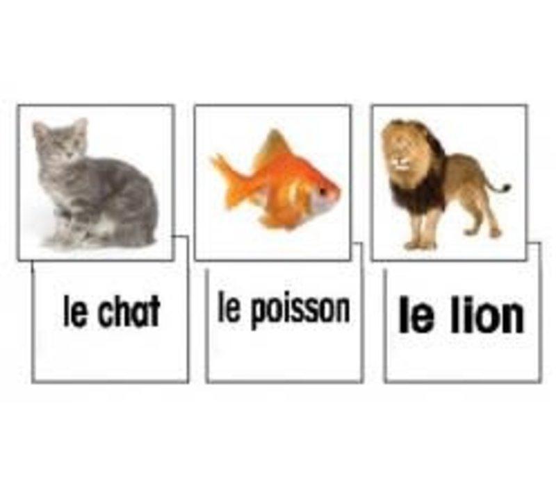Les animaux - Animal Flashcards*