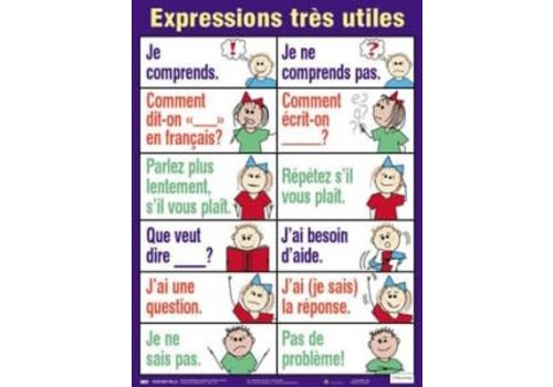 POSTER PALS Expressions tres utile poster