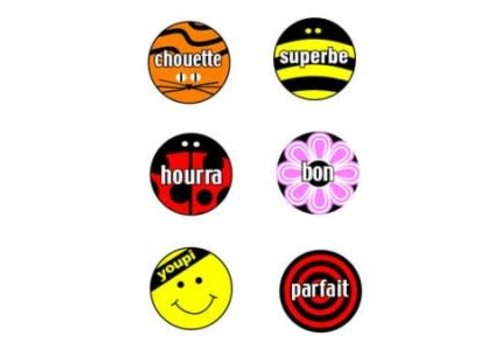 POSTER PALS French Stickers Multi Pack