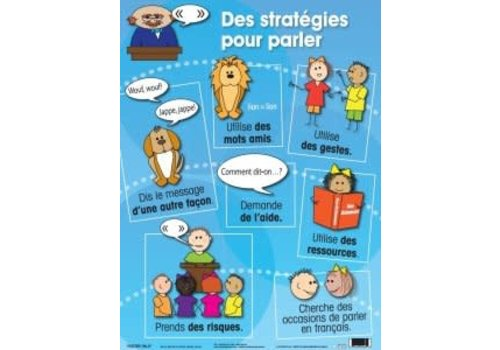 POSTER PALS Des strategies pour parler poster