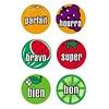 POSTER PALS French Stickers Dessins de fruits *