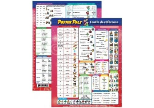 POSTER PALS Reference Sheet/Feuille de reference