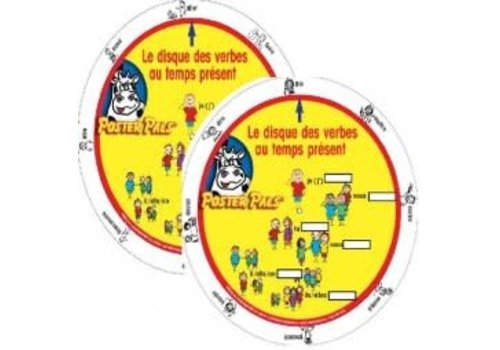 POSTER PALS French Verb Wheel