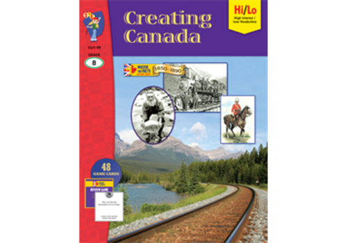 ON THE MARK PRESS Creating Canada, 1850-1890, Gr8