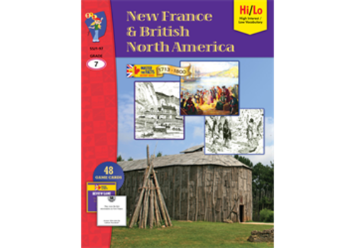 ON THE MARK PRESS New France & British North America Grade 7