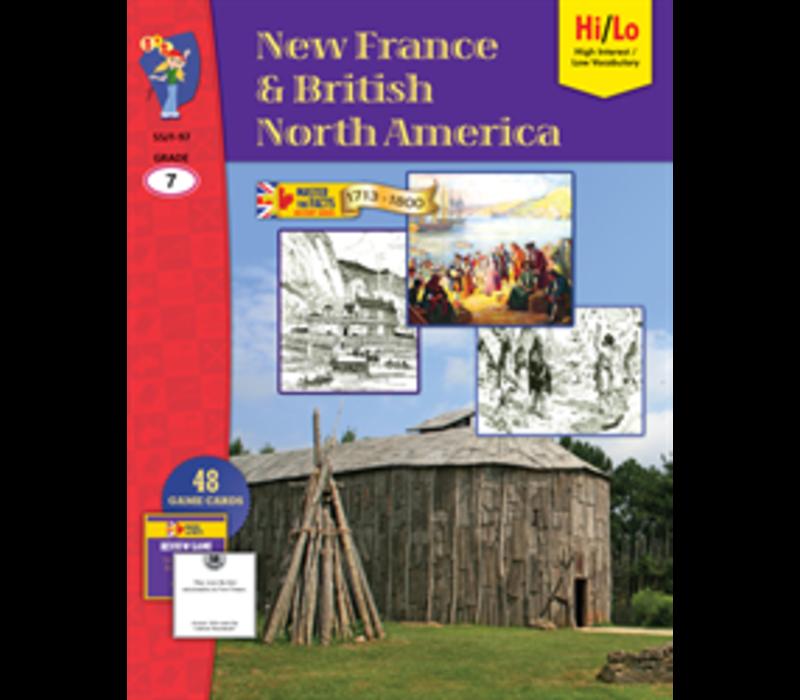 New France & British North America Grade 7