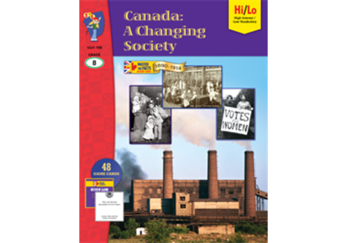 ON THE MARK PRESS Canada: A Changing Society, 1890-1914, Gr8