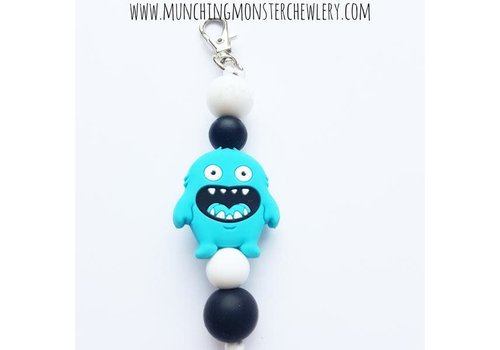 Munching Monster Munching Monster Zipper Pull Fidget
