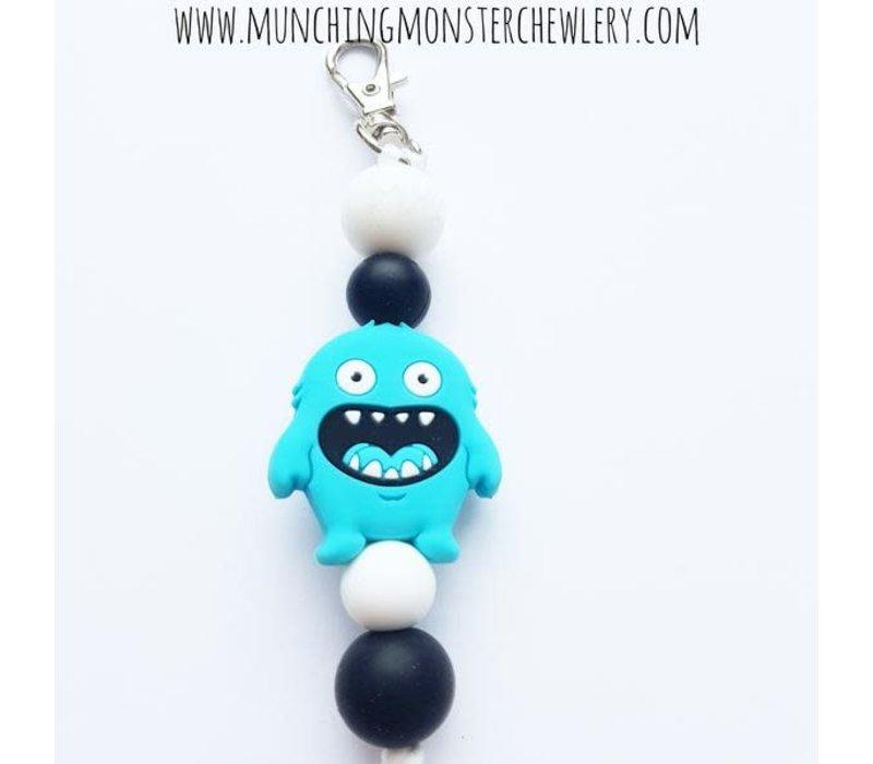 Munching Monster Zipper Pull Fidget