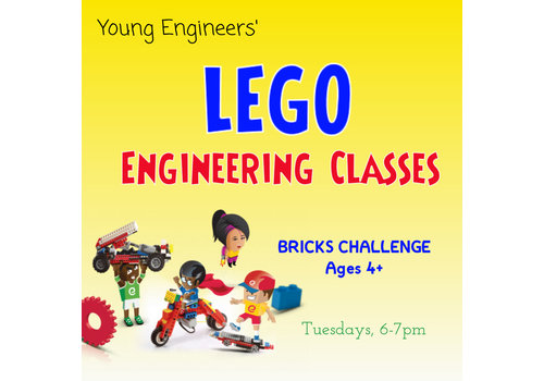 Young Engineers Lego Bricks Challenge