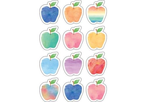 Teacher Created Resources Watercolour Apples Accents Mini Accents