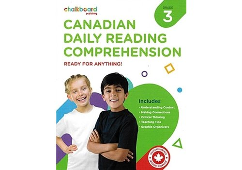 NELSON Canadian Daily Reading Comprehension Grade 3