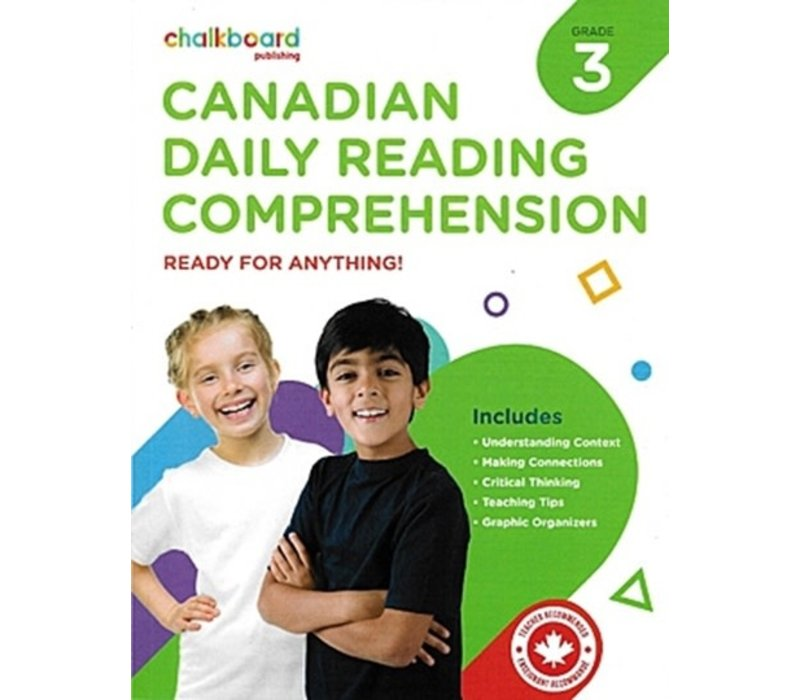 Canadian Daily Reading Comprehension Grade 3 *