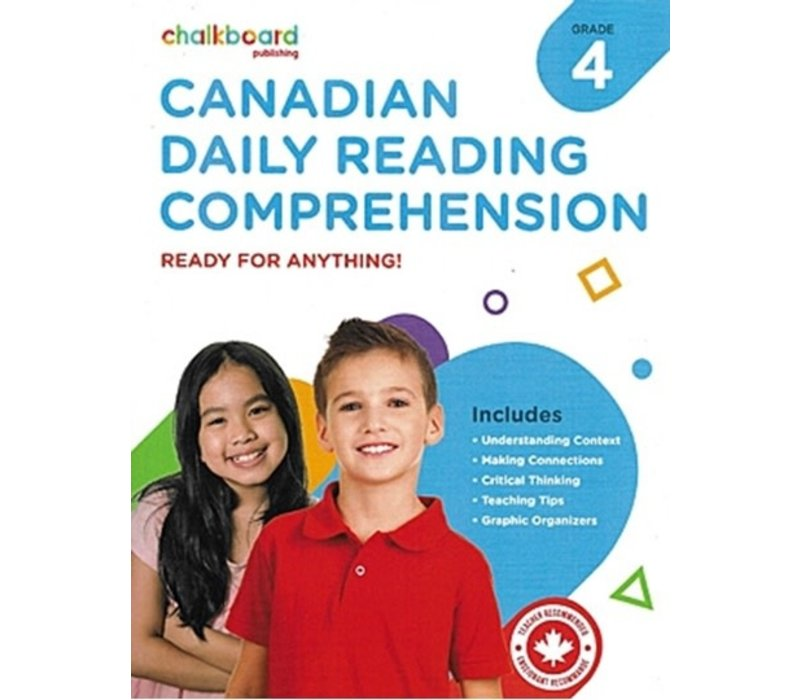 Canadian Daily Reading Comprehension Grade 4