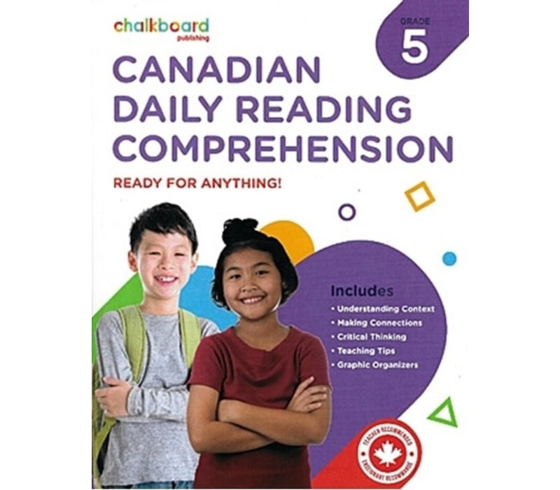 Canadian Daily Reading Comprehension Grade 5