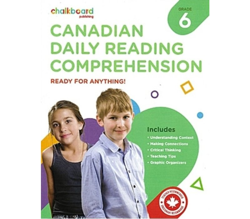 Canadian Daily Reading Comprehension Grade 6