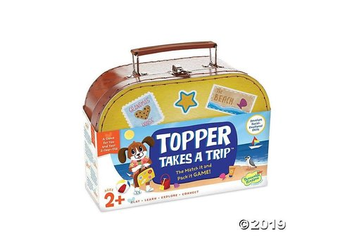 PEACEABLE KINGDOM Topper Takes a Trip - Cooperative Game *