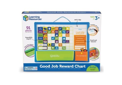 Learning Resources Good Job Reward Chart *