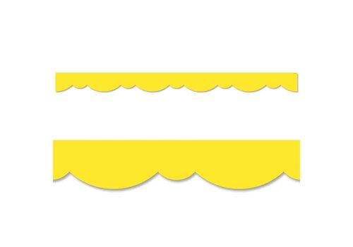 Creative Teaching Press Yellow Stylish Scallops Border