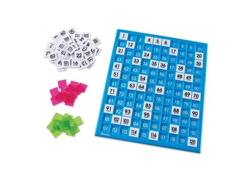 Learning Resources 120 Number Board Activity Set