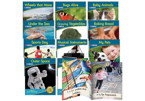 JUNIOR LEARNING Decodable Non-Fiction Library *