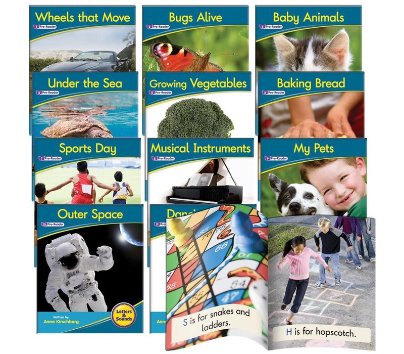 Decodable Non-Fiction Library