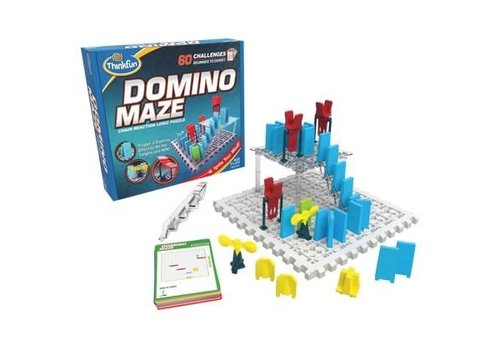 THINK FUN Dominio Maze - Chain Reaction Logic Puzzle