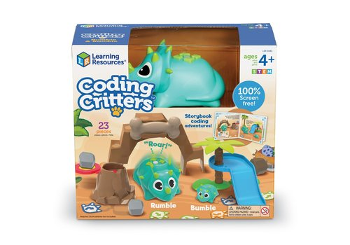 Learning Resources Coding Critters™ Rumble & Bumble