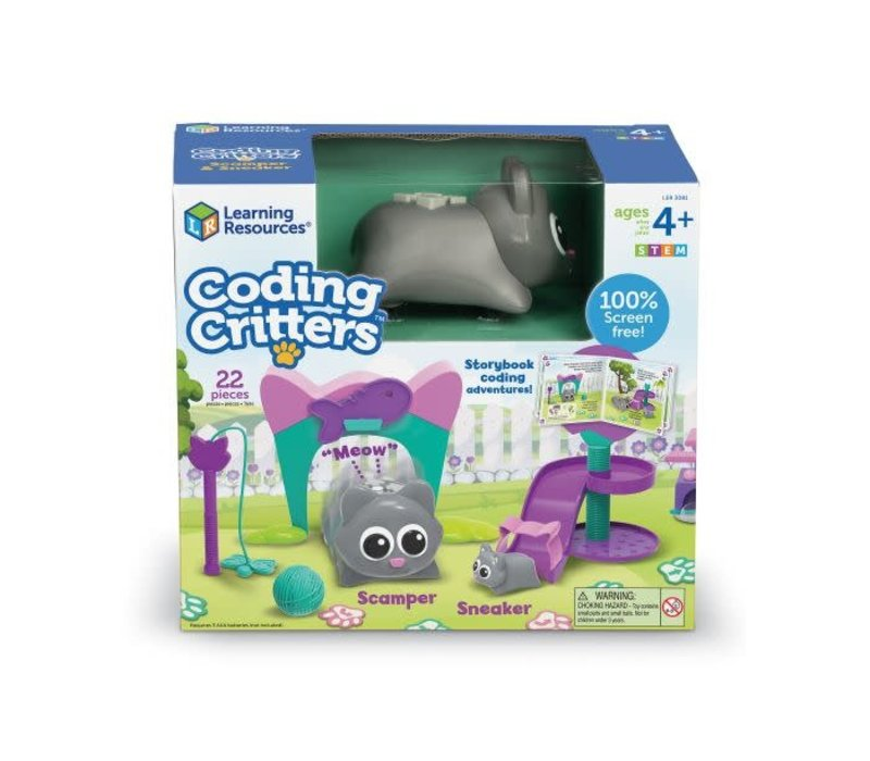 Coding Critters™ Scamper & Sneaker *