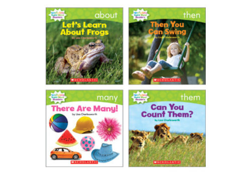 SCHOLASTIC CANADA Scholastic Nonfiction Sight Word Readers - Level C