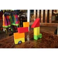 Gecko Blocks Clingy Building Blocks, 28 pieces * (D)
