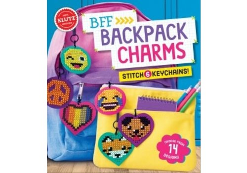 Klutz BFF Backpack Charms Craft Kit