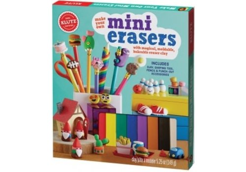 Klutz Make Your Own Mini Erasers: With magical, moldable, bakeable eraser clay
