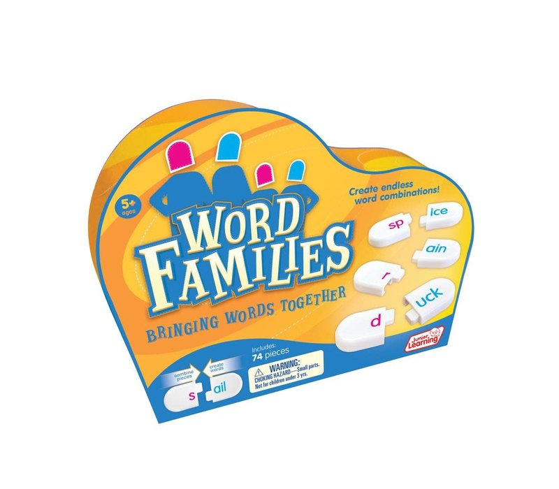 Word Families Family Game