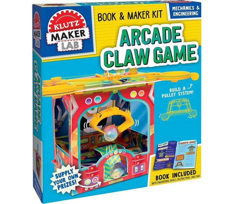 Maker Lab: Arcade Claw Game