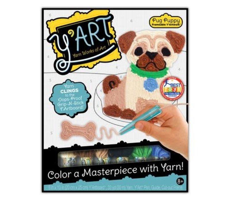Y'Art Craft Kit  - Pug Puppy