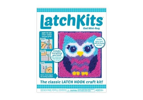 Kahootz LatchKits™ Owl Latch Hook Kit *