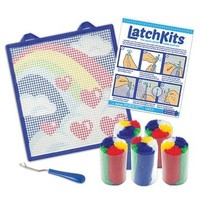 LatchKits™ Rainbow Latch Hook Kit *