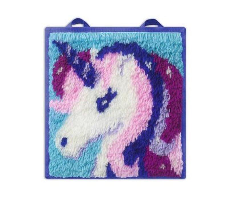 LatchKits™ Unicorn Latch Hook Kit