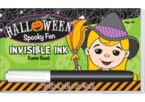 Lee Publications Halloween Spooky Fun Invisible Ink Game Book