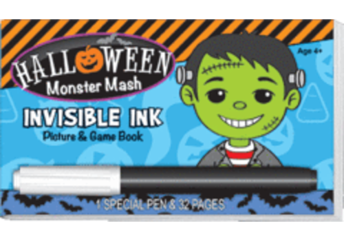 Lee Publications Halloween Monster Mash Invisible Ink Game Book