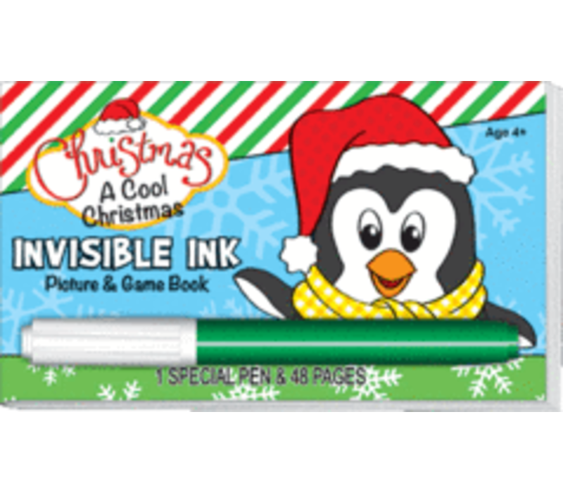 A Cool Christmas Invisible Ink Book